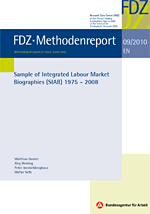 Cover FDZ-Methodenreport